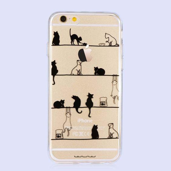 Coque iPhone avec des chats
