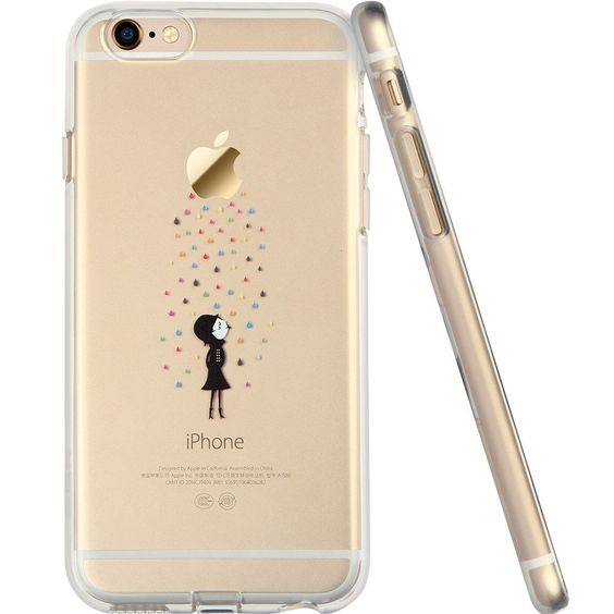 Coque iPhone personnage
