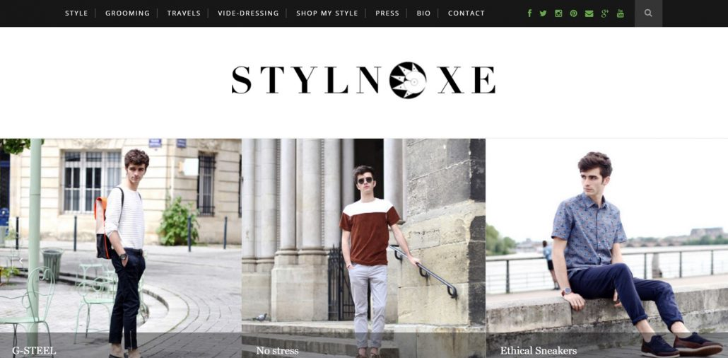 Blog mode homme Stylnoxe