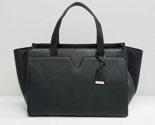 petit sac noir ideal poncho