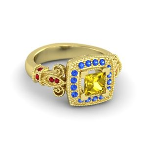 bague de fiancaille princesse belle