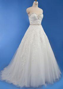 mariage de princesse robe cendrillon