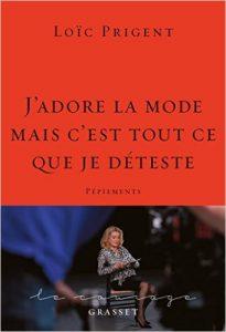 livre sur la mode Loïc Prigent
