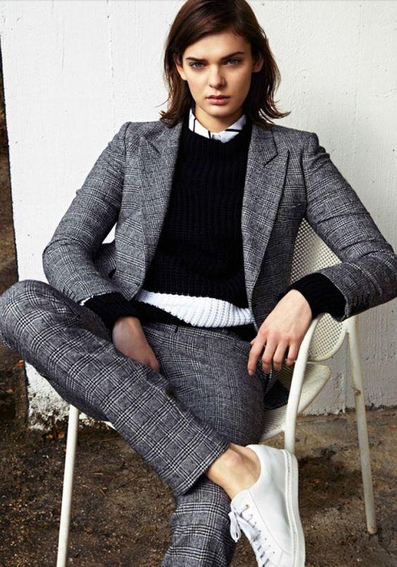 pantalon tailleur Karine Lecchi