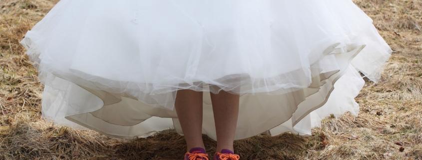 Chaussures avec une robe
